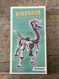Dino - Glow in the dark bouwset - Brachiosaurus