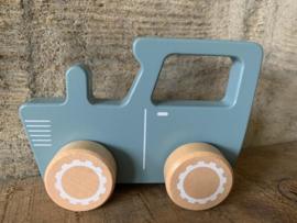Houten traktor