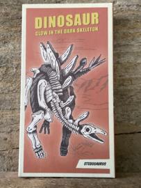 Dino - Glow in the dark bouwset - Stegosaurus