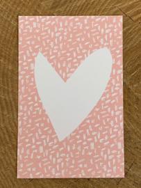 Mini kaart - Hart