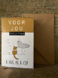 Thee kaartje - A Hug in a Cup