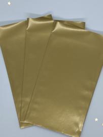Cadeauzakjes - Goud - 5 stuks