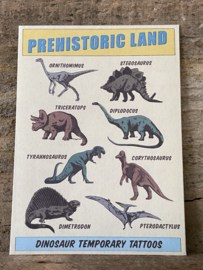 Dino plaktattoos