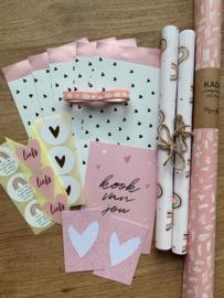 Voordeelpakket - Roze/Wit