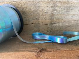 Krullint - Parelmoer lichtblauw - 5 m