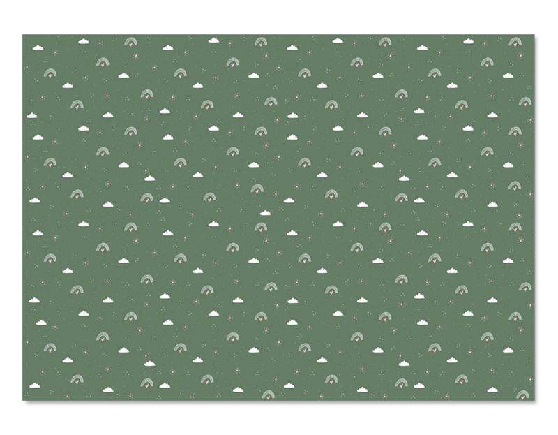 Cadeaupapier (vel) -  regenboog