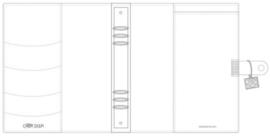 Simple Stories Carpe Diem Planner cover Platinum