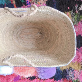 Silver painting basket L 03