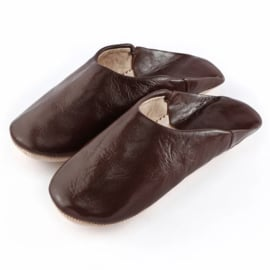 Babouche simple Brown