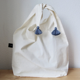 Tassel Eco bag Gray