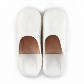 Babouche simple White