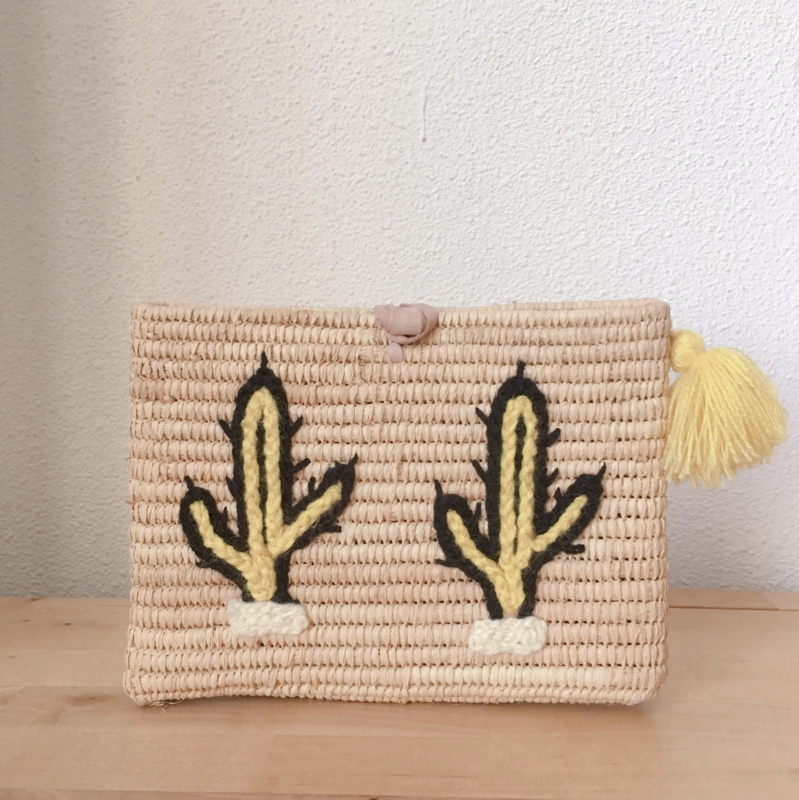 Cactus Clutch Yellow