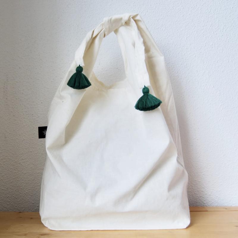 Tassel Eco bag Green
