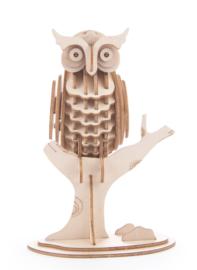 Kikkerland 3D puzzel uil