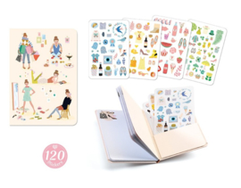 Notitieboekje met 120 stickers