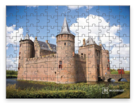 Puzzel Muiderslot 108 stukjes