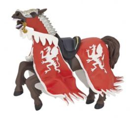 Paard rode drakenkoning