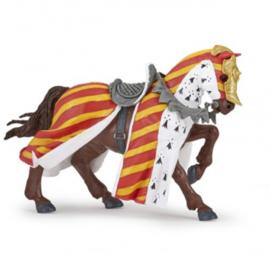 Paard rood/gele tuniek