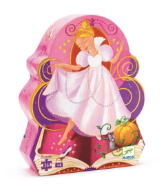 Puzzel prinses 36 stukjes