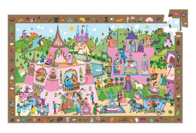Puzzel Prinsessentuin 54 stukjes