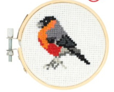 Kikkerland borduursetje vogel