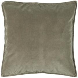 IB Laursen - kussen velvet linen (52x52cm)