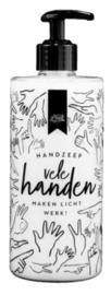 100% Leuk - Handzeep - ' vele handen maken licht werk'