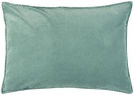 IB Laursen - kussen velvet green mist (72x52cm)