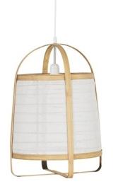 IB Laursen - Hanglamp bamboe Ø:37cm