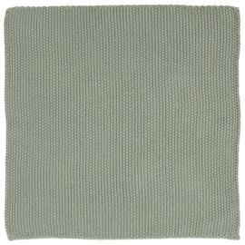 IB Laursen - Vaatdoek Mynte dusty groen gebreid
