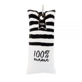 100% Leuk - Sleutelhanger mama