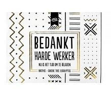 100% Leuk - Badthee - Bedankt harde Werker