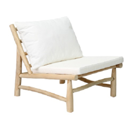 Bazar Bizar The Island One Seater - Natural White
