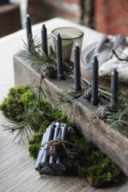 IB Laursen - Kandelaar hout voor tapekaars