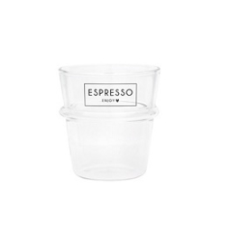 Bastion Collections - Espresso glas Espresso Enjoy