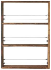 IB Laursen - display met planken en draad