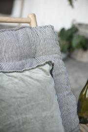 IB Laursen - matrasje bamboe zonnebed (zwart-crème)