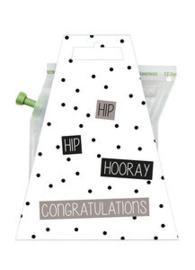 LIV 'N TASTE - giftcard- Hooray congratulations-teabrewer