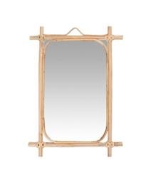 IB Laursen - hangspiegel bamboe rechthoek H35,5cm