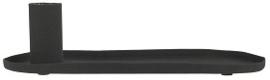 IB Laursen - Kaarsenstandaard ovaal zwart