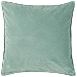 IB Laursen - kussen velvet green mist (52x52cm)