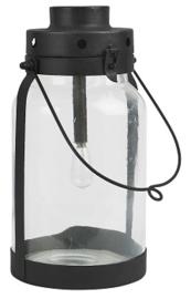 IB Laursen - LED lantaarn zwart