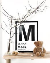 Baby poster - gepersonaliseerd