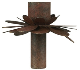 IB Laursen - Kandelaar flower roest