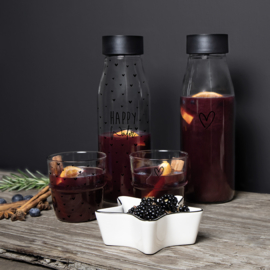 Bastion Collections - Waterglas hartjes