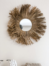 Candrika Seagrass Mirror