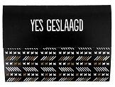 100% Leuk - Ballonnenkaart - Yes geslaagd!