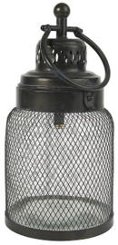 IB Laursen - LED-lantaarn met gaas rond het glas (L)