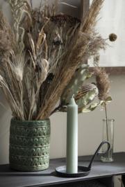IB Laursen - Rustic kaars dusty groen