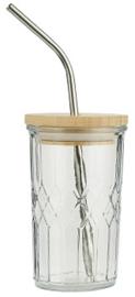 IB Laursen - Glas met bamboe deksel